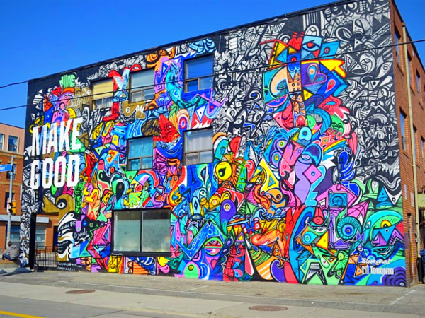 Best street art spots to visit in Canada