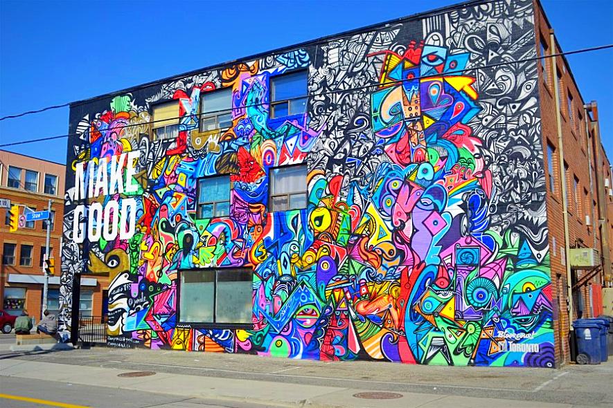 Best street art spots to visit in Canada