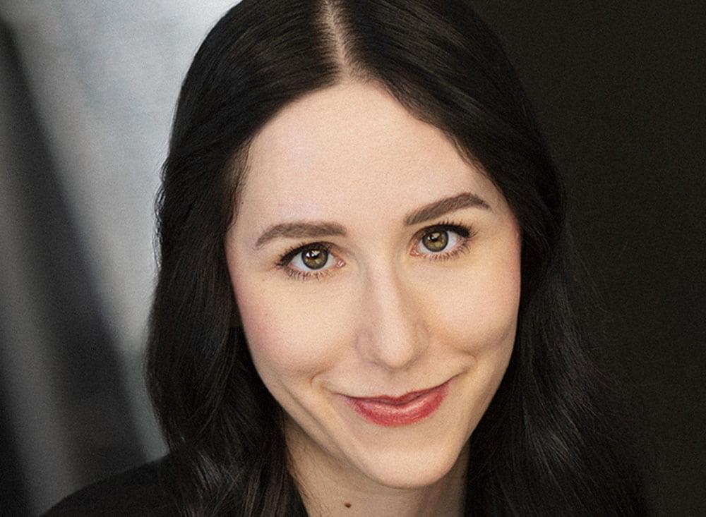 Canadian actress Sarah Winstanley